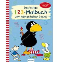 Thienemann-Esslinger Verlag - Das lustige 1 2 3-Malbuch vom Raben Sock