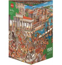 Heye - Triangularpuzzle - Ancient Rome Triangular, 1500 Teile
