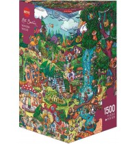Heye - Triangularpuzzle - Wonderwoods Triangular, 1500 Teile