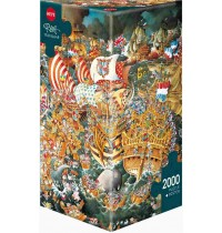 Heye - Triangularpuzzle - Trafalgar Triangular, 2000 Teile