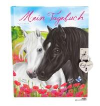 Depesche - Miss Melody Tagebuch mit Stickern, Motiv 2, zwei Pferde