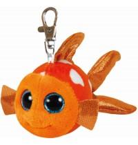Ty Plüsch - Beanie Boos Glubschis Clip - Sami, Clownfisch 8.5cm