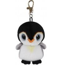 Ty Plüsch - Beanie Babies Clip - Pongo, Pinguin 8.5cm