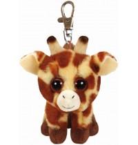 Ty Plüsch - Beanie Babies Clip - Peaches, Giraffe 8.5cm