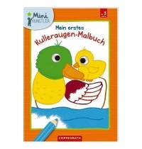 Coppenrath Verlag - Mein erstes Kulleraugen-Malbuch: Enten