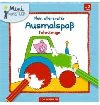 Coppenrath Verlag - Mein allererster Ausmalspaß: Fahrzeuge