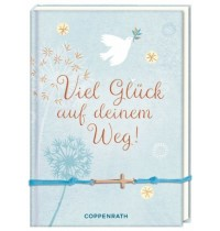 Coppenrath Verlag - Viel Glück auf deinem Weg - Büchlein mit Armband