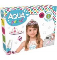 Aladine - Aqua Pearl Set Krone