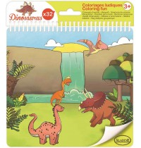 Aladine - Ausmalheft Dinosaurier