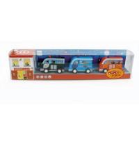 Scratch - Set mit 3 Holzfahrzeugen Ambulanz