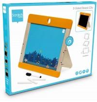 Scratch - Magnettafel und Whiteboard Stadt