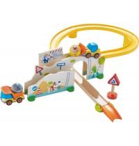 HABA® - Kullerbü - Spielbahn Auf der Baustelle