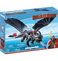 Playmobil® 9246 - Dragons - Hicks und Ohnezahn