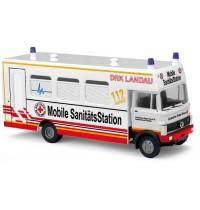 Busch Automodelle - MB LP809, DRK Mobile Sanitätsstation