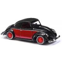 Busch Automodelle - VW Hebmüller Cabrio geschlossen, Schwarz