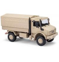 Busch Automodelle - Mercedes Unimog U5023 Militär, Sandfarben
