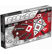 Geomag - Classic Black and White 104tlg.
