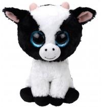 Ty Plüsch - Beanie Boos Glubschis - Kuh Butter, schwarz/weiss 15cm