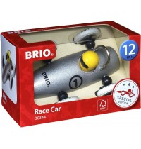 BRIO - Toddler Push Alongs - Sonderedition Rennwagen silber-metallic