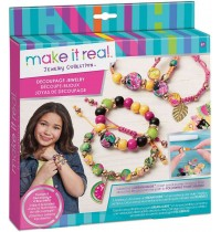 Make it Real - Decoupage-a-Bead Jewelry