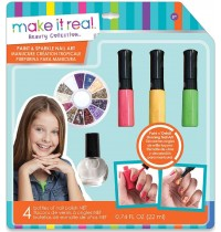 Make it Real - Paint and Sparkle Nail Art - Graphic Jungle