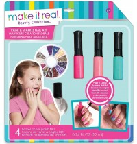 Make it Real - Paint and Sparkle Nail Art - Blooming Creativity