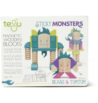 Tegu - Sticky Monsters - Beans & Tumtum