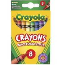Crayola - Wachsmalstifte, fein, 8 Stück