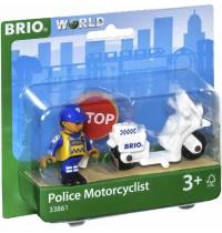 BRIO Bahn - Motorrad-Polizist
