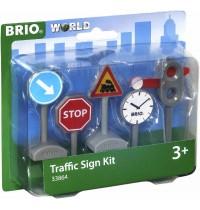 BRIO Bahn - Verkehrszeichen-Set