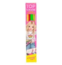 Depesche - TOPModel Buntstifteset 4 Neon Farben