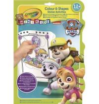 Crayola - Paw Patrol - Mini Kids Mal- & Stickerspaß