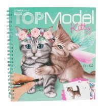 Depesche - Create your TOPModel Kitty Malbuch