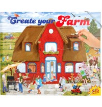 Depesche - Create your Farm - Malbuch mit Stickern