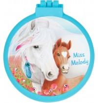 Depesche - Miss Melody Klapphaarbürste mit Spiegel