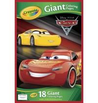 Crayola - Cars 3 - XXL Ausmalblätter