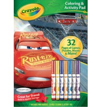 Crayola - Cars 3 - Color & Activitybook