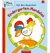 Coppenrath Verlag - Mini-Künstler - Kindergarten-Mandalas - Auf dem Bauernhof