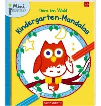 Coppenrath Verlag - Mini-Künstler - Kindergarten-Mandalas - Tiere im Wald
