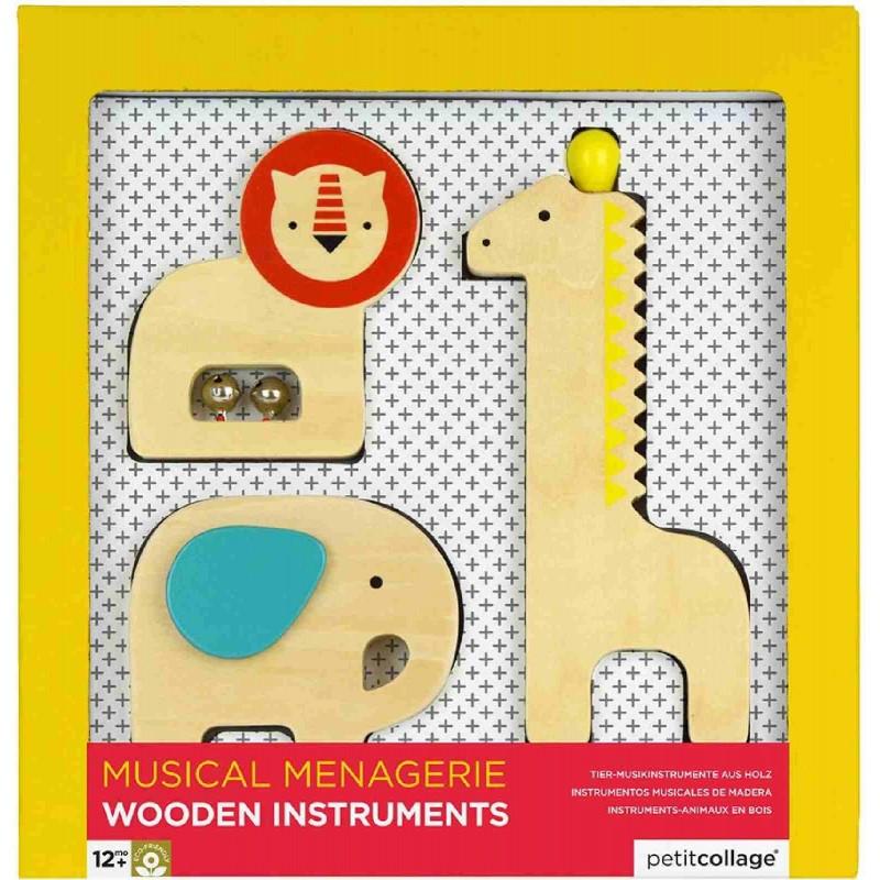 Petit Collage - Tier-Musikinstrumente