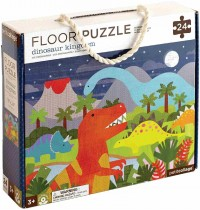 Petit Collage - Floor Puzzle Dinosaurier 24 Teile