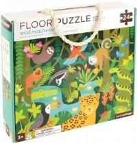 Petit Collage - Floor Puzzle Regenwald 24 Teile
