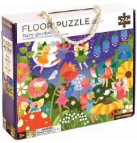 Petit Collage - Floor Puzzle Feengarten 24 Teile