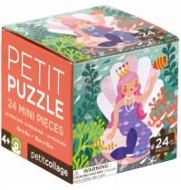 Petit Collage - Petit Puzzle Meerjungfrau 24 Teile