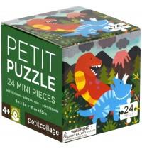 Petit Collage - Petit Puzzle Dinosaurier 24 Teile