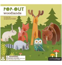 Petit Collage - Pop Out Waldtiere