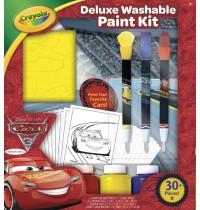 Crayola - Cars 3 - Deluxe Malset mit auswaschbaren Farben