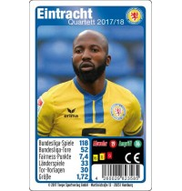 Teepe Sportverlag - Eintracht Braunsch. Quartett 17/18