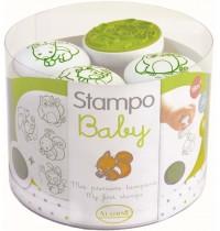 Aladine - Stampo Baby Waldtiere