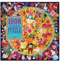 eeBoo - Puzzle, Zirkus 1008 Teile